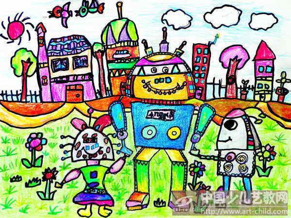 庆六一儿童画 少儿画苑来为您展现 六一儿童画 第3张
