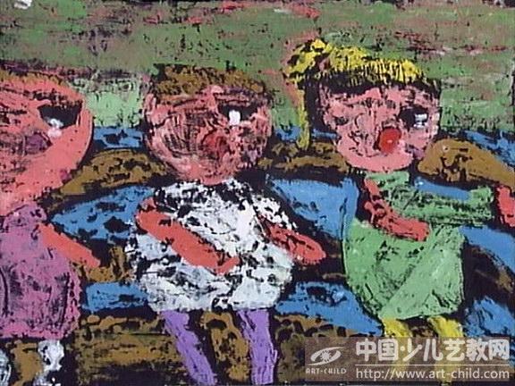 庆六一儿童画 少儿画苑来为您展现 六一儿童画 第4张