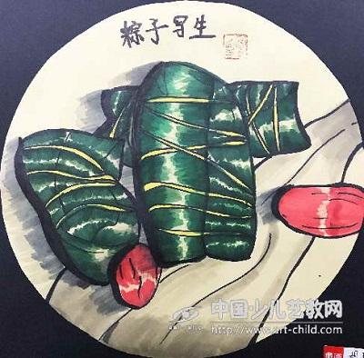 端午将至,粽香千里,端午节儿童画欣赏 端午节儿童画 第3张