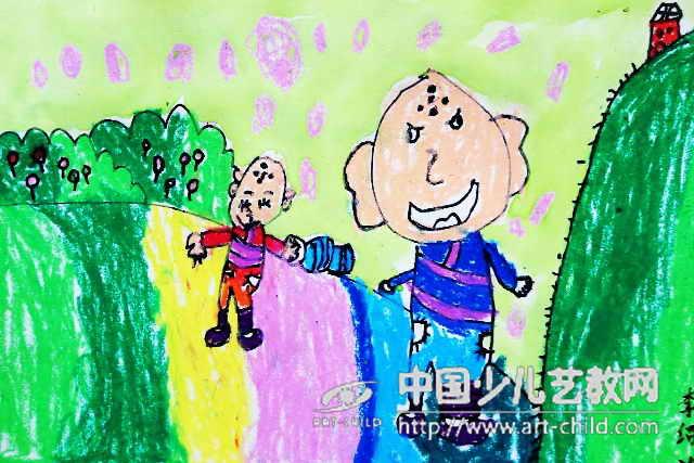 儿童画——喜爱的荷 儿童画 喜爱的荷 第8张